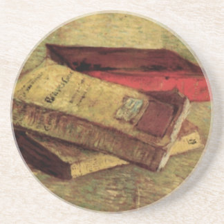 Still Life with Three Books by Vincent van Gogh Coaster