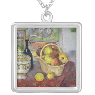 Still Life with Tureen, c.1877 Silver Plated Necklace