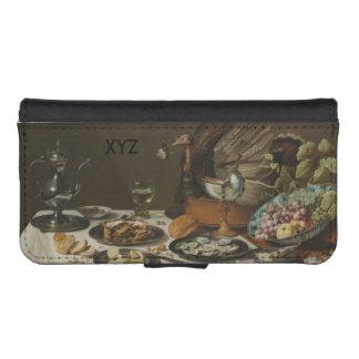 """""""Still Life With Turkey Pie"""" custom wallet cases"""