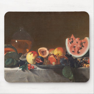 Still life with watermelons and carafe mouse mat