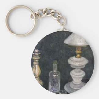 Still life with White Lamp by Modersohn Keychains