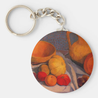 Still life with yellow cup by Modersohn Key Chains
