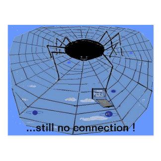...still no connection ! postcard
