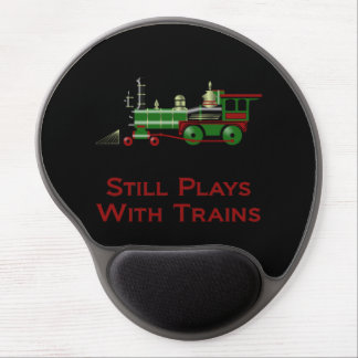 Still Plays With Trains Gel Mouse Pad