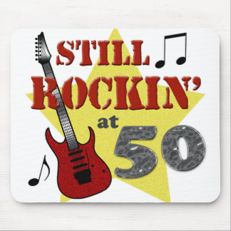 Still Rockin' At 50 Mouse Mat