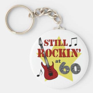 Still Rockin At 60 Keychains