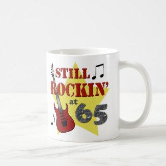 Still Rockin' at 65 Basic White Mug
