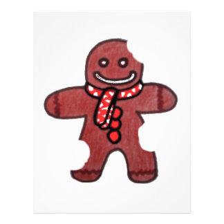 Still Smiling Gingerbread Man Flyer Design