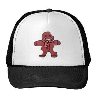 Still Smiling Gingerbread Man Hat