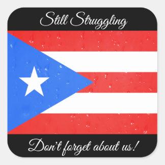 Still Struggling, Puerto Rico Flag Stickers