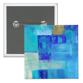 Still Waters Square Pin From Original Painting