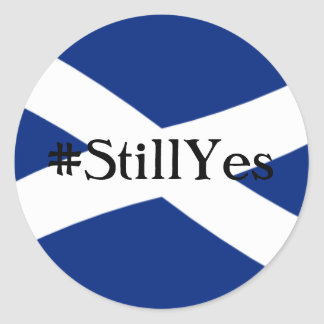 Still Yes Classic Round Sticker