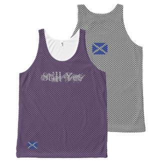 Still Yes Scottish Independence Checkerboard Vest