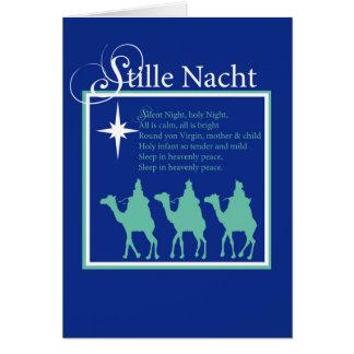 Stille Nacht Christmas Silent Night Card