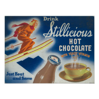 Stillicious Hot Chocolate Poster