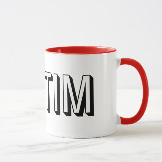& STIM Red and White Mug