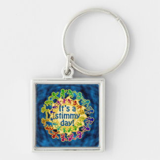 Stimmy Day Keychain
