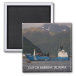 Stimson, Alaska State Troopers Square Magnet