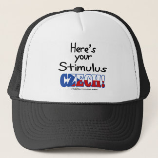 Stimulus Czech! Trucker Hat
