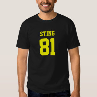 Sting, 81 Champs Tee Shirts
