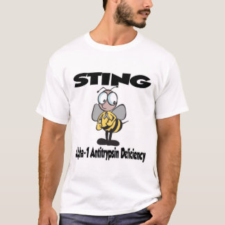 STING Alpha-1 Antitrypsin Deficiency T-Shirt