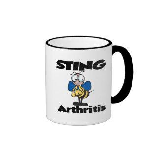 STING Arthritis Coffee Mugs