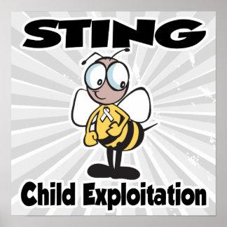 STING Child Exploitation Posters