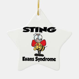 STING Evans Syndrome Christmas Tree Ornament