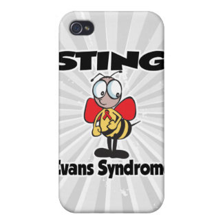 STING Evans Syndrome iPhone 4 Cover