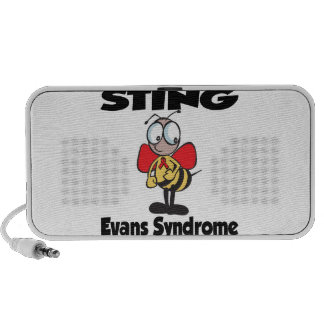 STING Evans Syndrome Portable Speakers