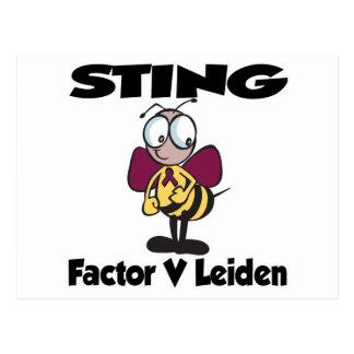 STING Factor V Leiden Post Cards