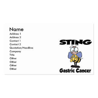 STING Gastric Cancer Pack Of Standard Business Cards
