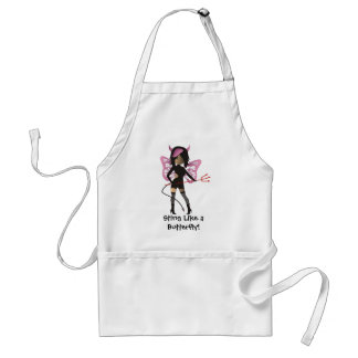 Sting Like a Butterfly! Standard Apron