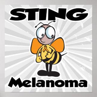 STING Melanoma Poster