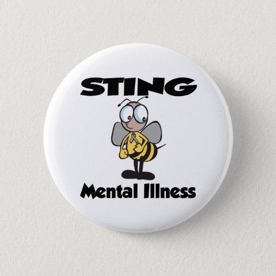 STING Mental Illness 6 Cm Round Badge