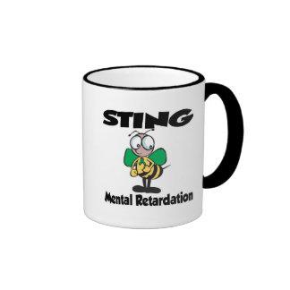 STING Mental Retardation Mugs