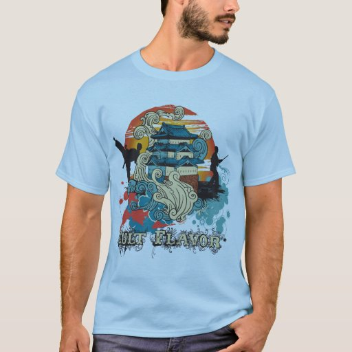 Sting of the Dragon Masters Light Blue Shirt