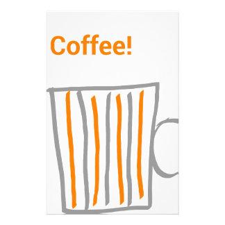 Sting one Coffee Custom Stationery