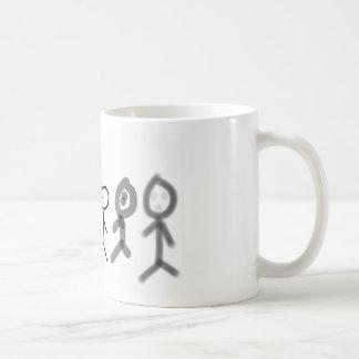 Sting one friends basic white mug