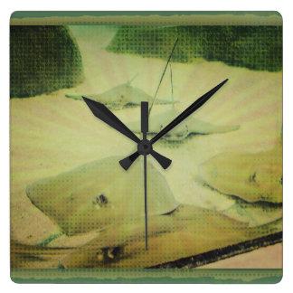 Sting Ray Clock