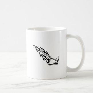 Sting Ray Flames Basic White Mug