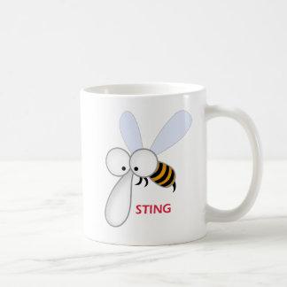 Sting-sq Classic White Coffee Mug