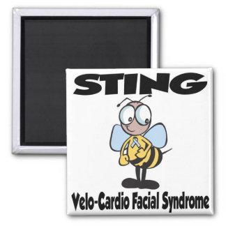 STING Velo-Cardio Facial Syndrome Fridge Magnet
