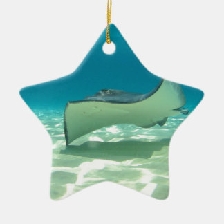 Stingray Christmas Ornament