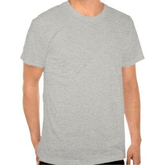 Stingray gray slightly fitted mens tshirt