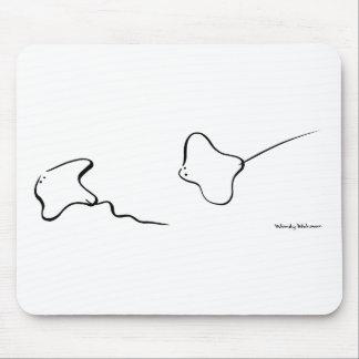 Stingrays Mouse Pad