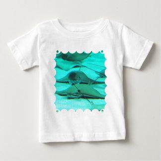Stingrays on Ocean Floor Baby T-Shirt