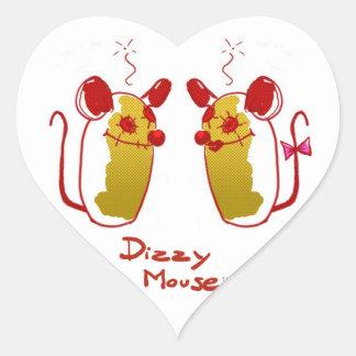 Stings Dizzy Mouse - Love Mouse Heart Shape