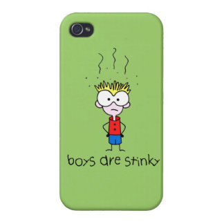 Stink Boy iPhone 4/4S Cases