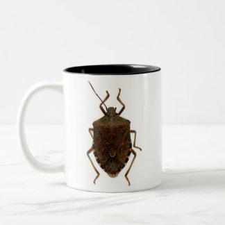 Stink Bug Two-Tone Coffee Mug